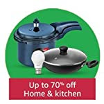 Up to 70% off Home & Kitchen