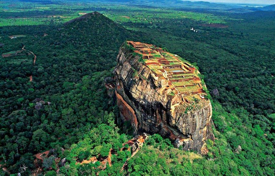 Sigiriya (Πέτρα του Λιονταριού), Sri Lanka