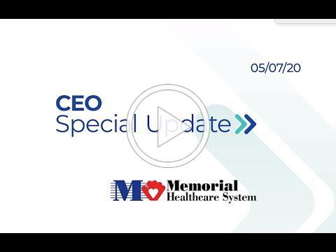 Special Message From Aurelio Fernandez and Stanley Marks, MD., Regarding Memorial Healthcare System