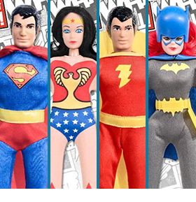 DC RETRO WORLD'S GREATEST HERO RETRO FIGURES