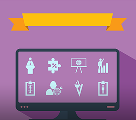 Free Vector: Assembly in flat style icons the theme business – stock illustration</p><p>
