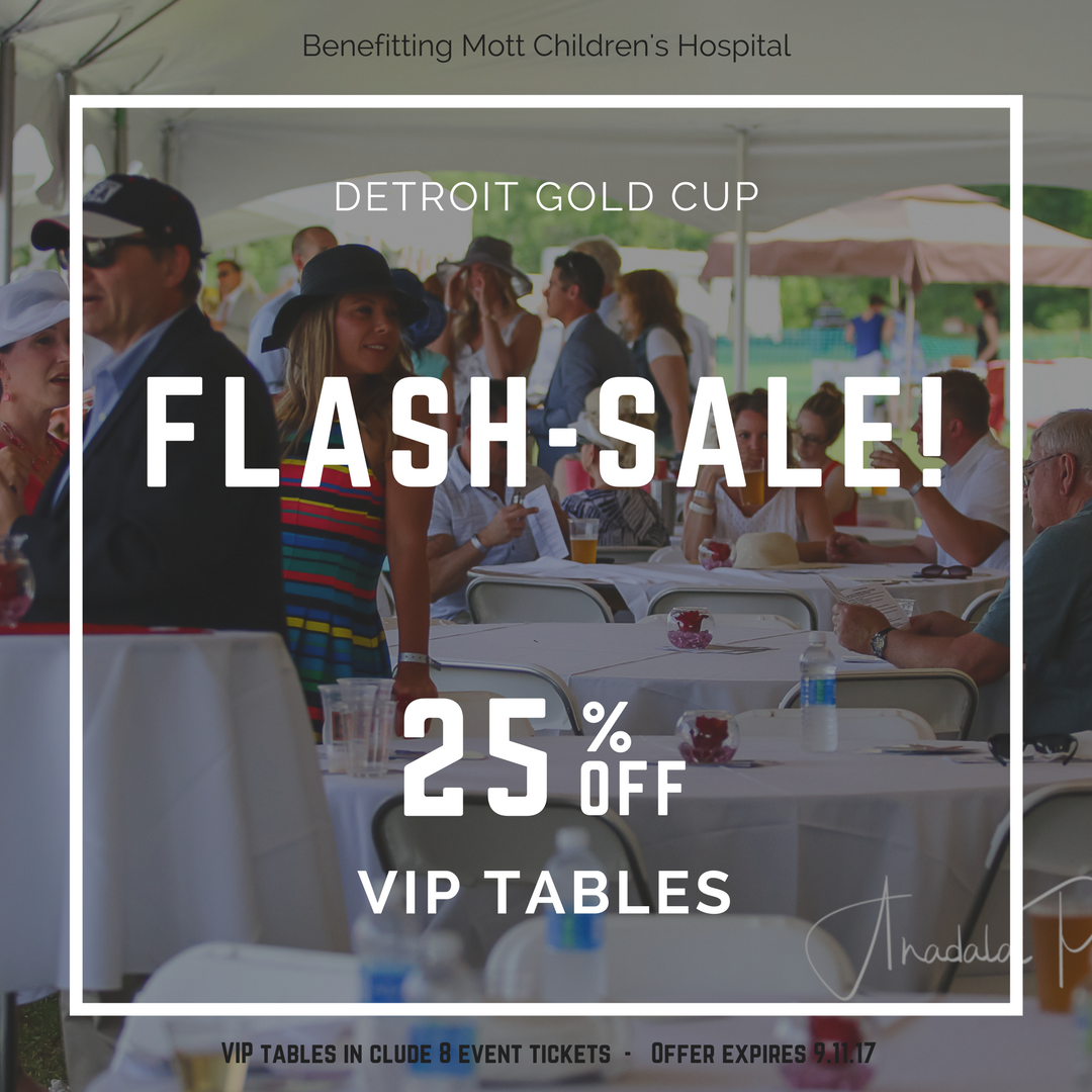 ⚡Flash Sale⚡ VIP Tables 25% off