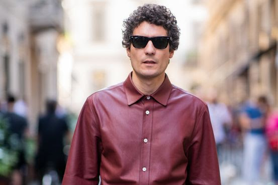 Image result for wall street journal leather shirts