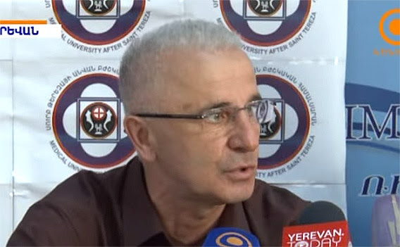 Levon Yepiskoposyan at the press conference 06-05-2015