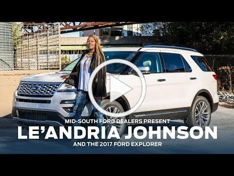 Mid-South Ford Dealers present Le'Andria Johnson