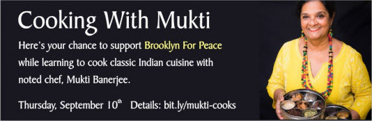 Cooking With Mukti: Link to Event Page