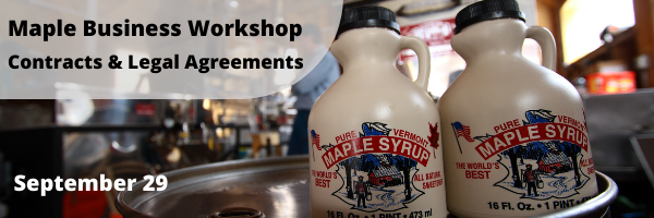 Workshop for Maple Businesses on Contracts and Legal Agreements