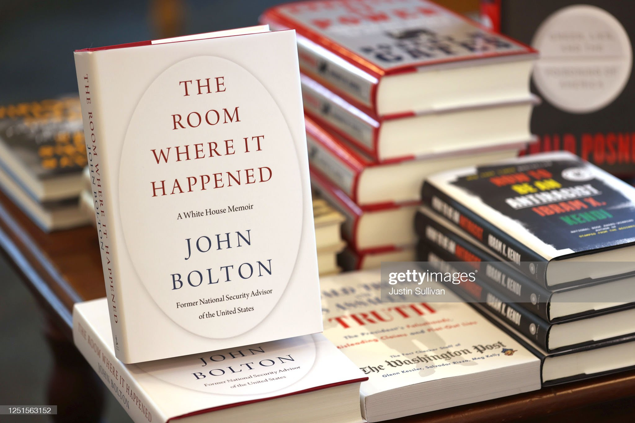 Controversial Book On Trump Administration By Former National Security Advisor John Bolton Released : News Photo