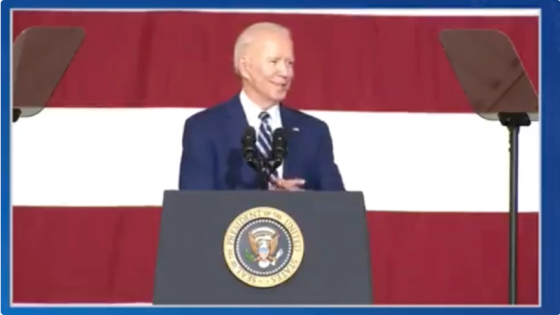 """Creepy Joe Biden Flirts with Young Girl During Speech: Looks 19 """"With Her Legs Crossed"""" Image-1748"""