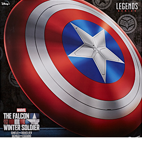 The Falcon and the Winter Soldier Marvel Legends Series Captain America's Shield