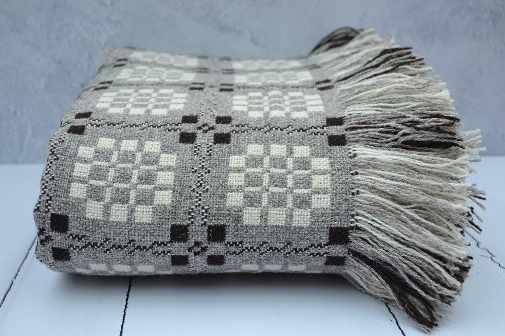 Image of Welsh Tapestry Blankets - Dinas Caerdydd