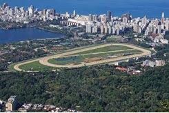 Gávea Racecourse in Rio de Janeiro, Brazil