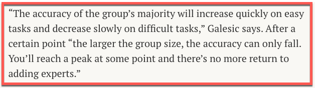 """Group Decision Disaster (Squared)"" - Annie's Newsletter, May 18th, 2018"