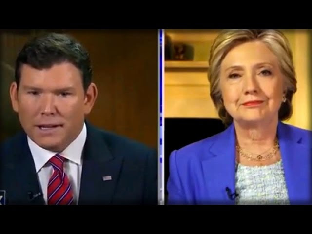 IT'S HAPPENING! WHAT BRET BAIER SAID LAST NIGHT ON FOX NEWS WILL PUT HILLARY IN PRISON!  Sddefault