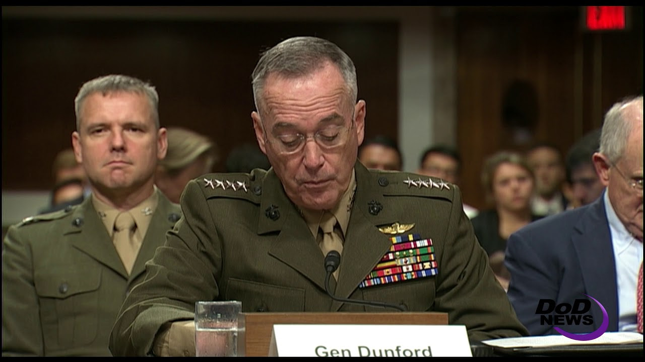 Dunford: Corruption the Single Greatest Roadblock to Progress