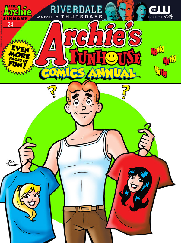 Archie's Funhouse Comics Annual #24 Cover