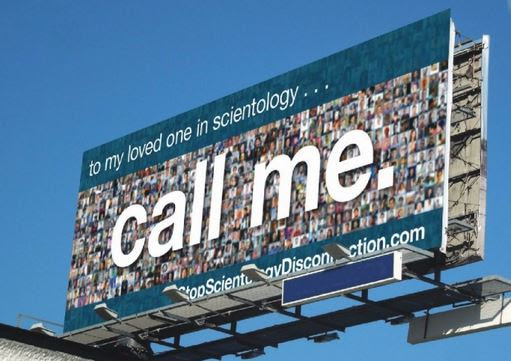 """Call Me"" billboard"