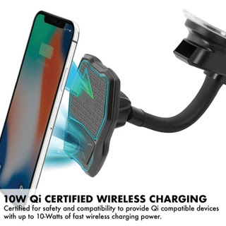 Up to 10W of Fast Wireless Charging Power