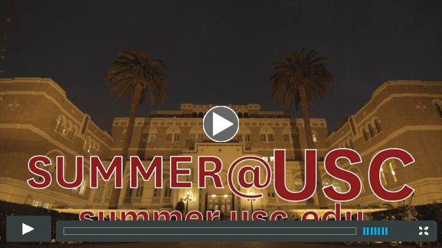Welcome to the University of Southern California Summer Programs