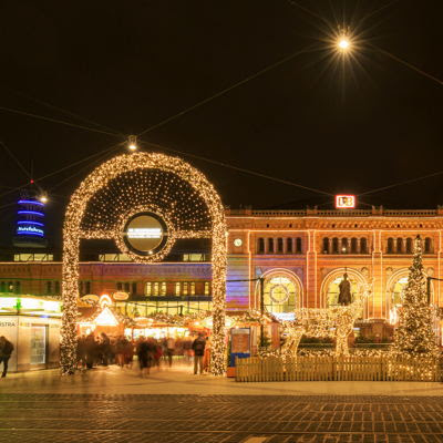 Hannover Christmas Market Main Station c) Hannover Marketing und Tourismus GmbH Lars Gerhardts