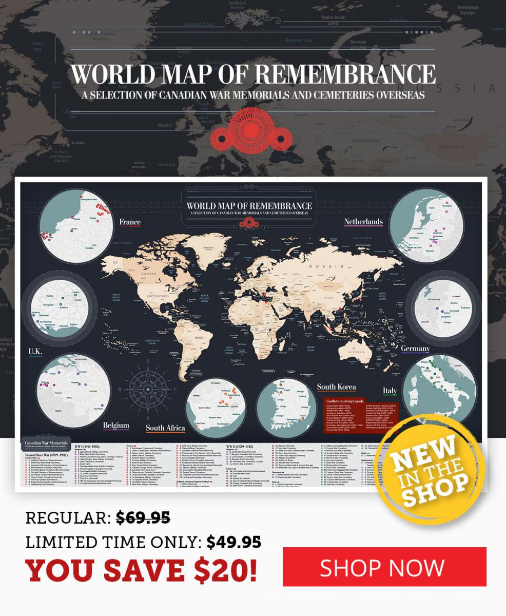 World map of Remembrance!