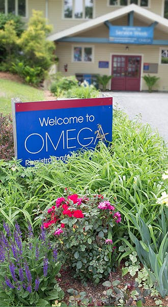 Omega, Rhinebeck campus main office building