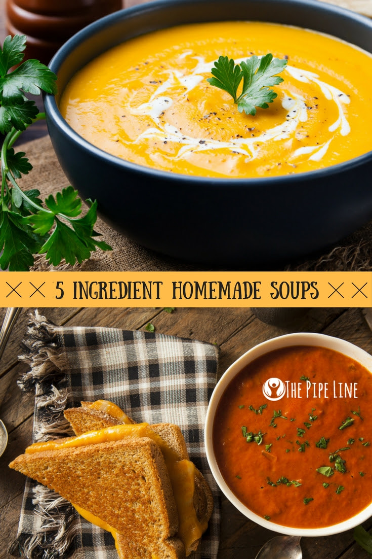 Soup Recipes With Only 5 Ingre...