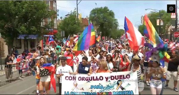 Sabor agridulce en fiestas puertorriqueñas en Chicago (video Univision)