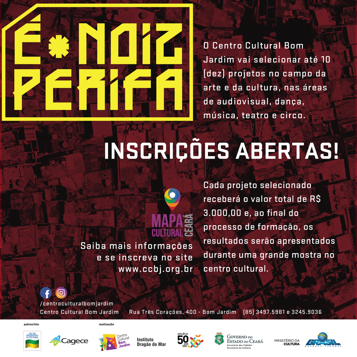 Flyer Inscricoes
