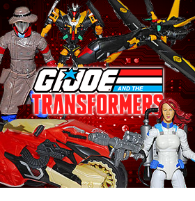 GI JOE TRANSFORMERS CROSSOVER