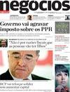 Ver capa Jornal de Negócios