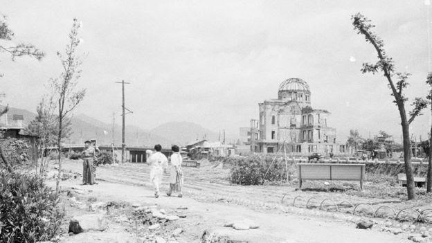 Memorial da Paz de Hiroshima em 1945