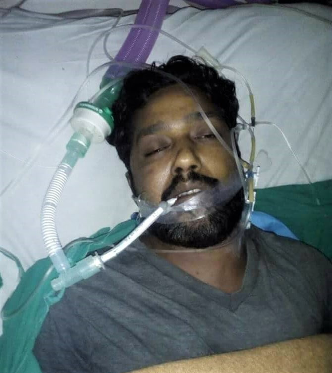 Sunil Saleem died at the hospital after doctors beat him to death, relatives said. (Morning Star News)