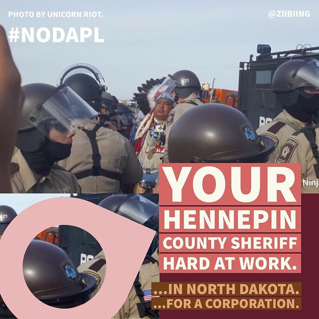 Hennepin County at Standing Rock