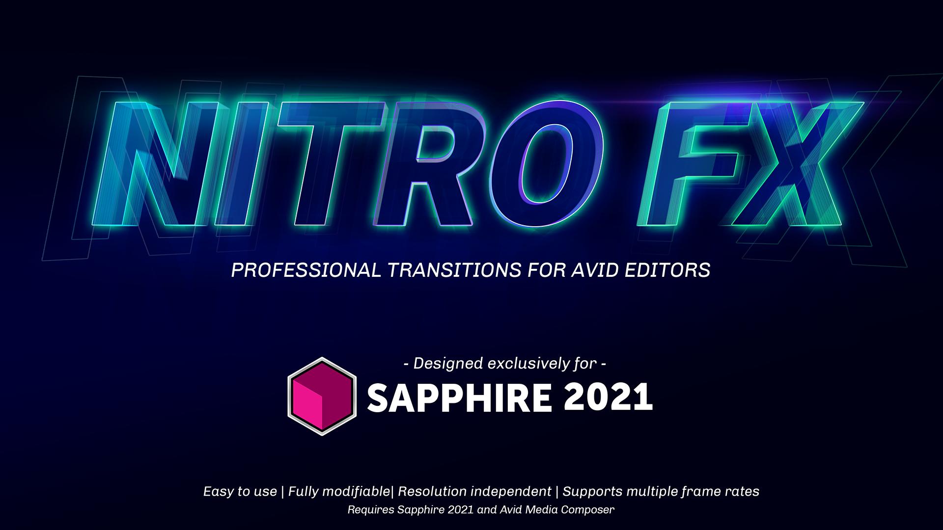 Sapphire Nitro FX Transition Pack  - hero image