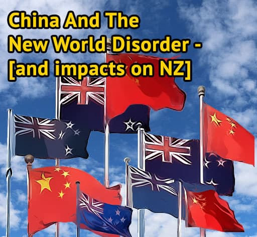 China and the New World Disorder