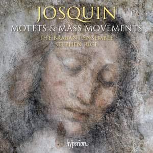 Josquin: Motets & Mass movements Product Image