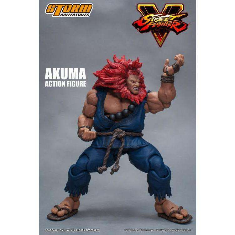 Image of Street Fighter V - Akuma 1/12 Scale Figure
