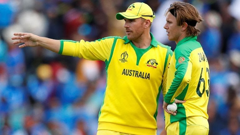 Adam Zampa was caught rubbing the ball with a hand warmer during India vs Australia clash.