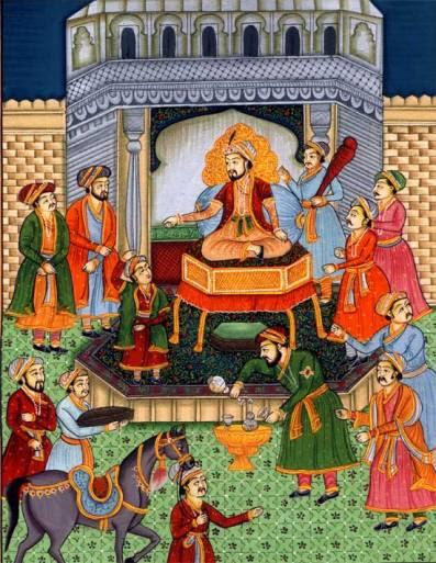 pabaa009_court_scene_mughal_emperor