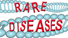 rare diseases with DNA in the background