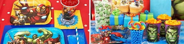 Avengers Birthday Party Supplies
