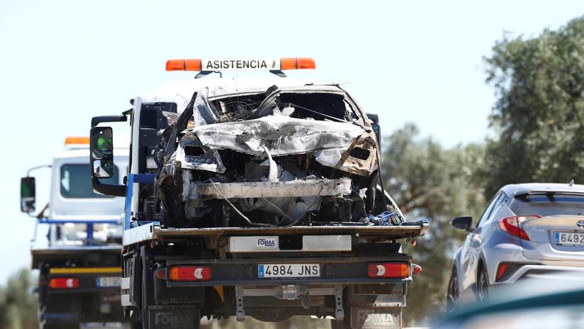 José Antonio Reyes iba a 237 km/h cuando el reventón de un neumático provocó el trágico accidente