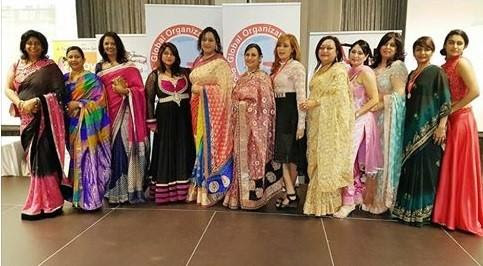Indian Ladies at the Finale Awards Banquet of GOPIO-Durban Business Summit