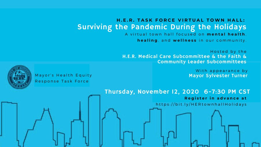 Register Today for a Virtual Town Hall on Surviving the Holidays During the Pandemic 1