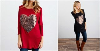★HOT★ Sequin Heart Tunic!