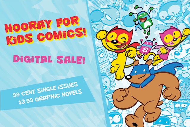 Kid's Comics Sale