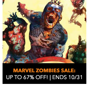 Marvel Zombies Sale: up to 67% off! Sale ends 10/31.