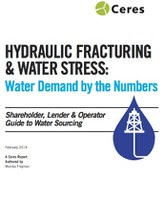Hydraulic Fracturing and Water Stress