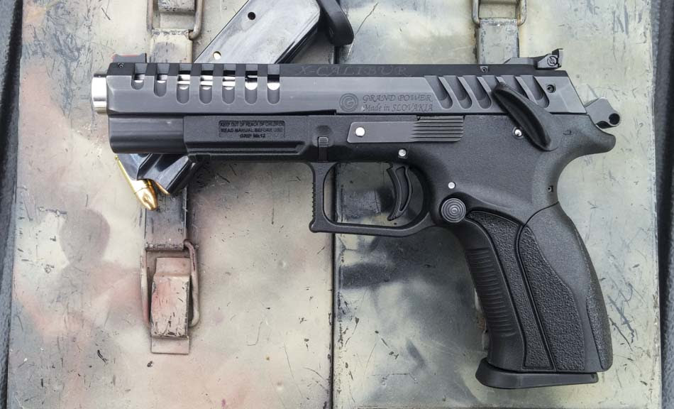 Gun Review Grand X Calibur 9mm